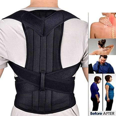 Adjustable Posture Corrector Back Brace For Back Pain Relief And Bad Posture Correction price in Nepal