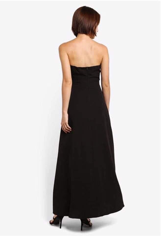 Zalora Ladies Sequin Strapless Partywear