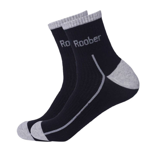 Pack Of 3 Roober Cotton Half Socks For Men