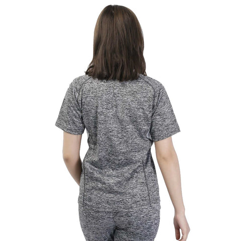 Knitted Cotton Sports T-Shirt For Women (For Winter)