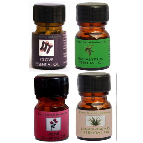 Kanti Herbal Essential Oil Combo Pack- Smell Therapy