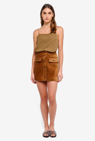 Mango Ladies Mini Skirt
