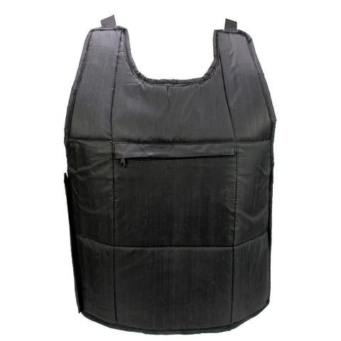 Black Solid Chest Guard