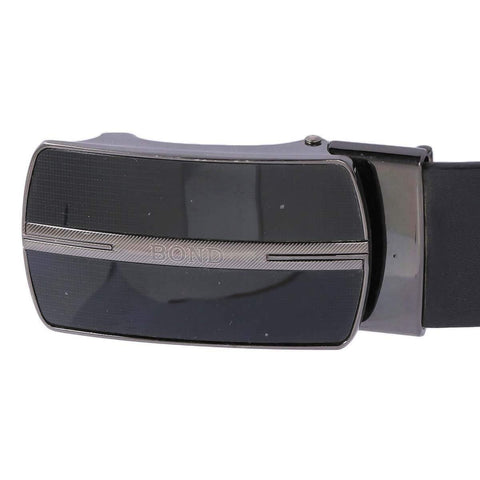 Combo Of 2 Black Plain Formal Belt For Men Price in Nepal