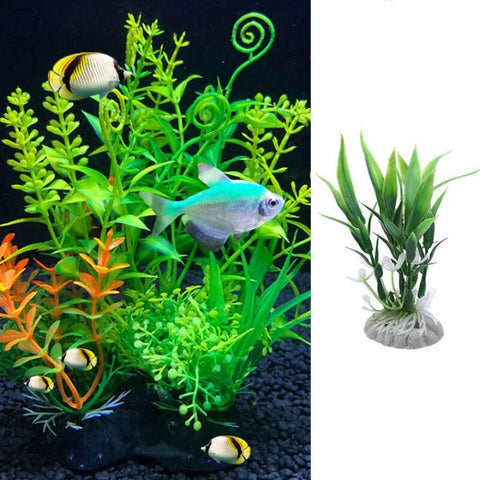 Aquatic Water Plants Fish Tank Aquarium Simulation Grass Decor Supplies price in Nepal