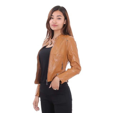Women's Faux Leather Jacket price in Nepal
