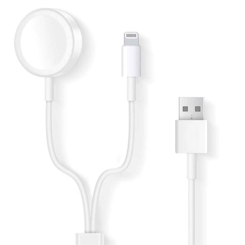 Adapter Cable COTEetCI 2 in 1 for Apple Watch, iPhone, iPod, iPad Price in nepal