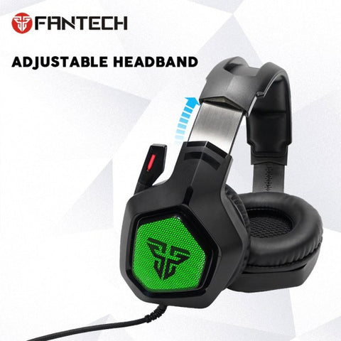 Fantech MH83 Adjustable Over Ear Gaming Headphone RGB Light Noise Cancelling Gaming Headset 7.1 price in nepal