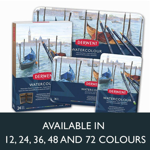 Derwent Watercolour Pencils Tin (Set of 12)