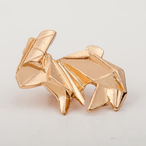 Geometric Rabbit Pattern Alloy Brooch For Women price in Nepal