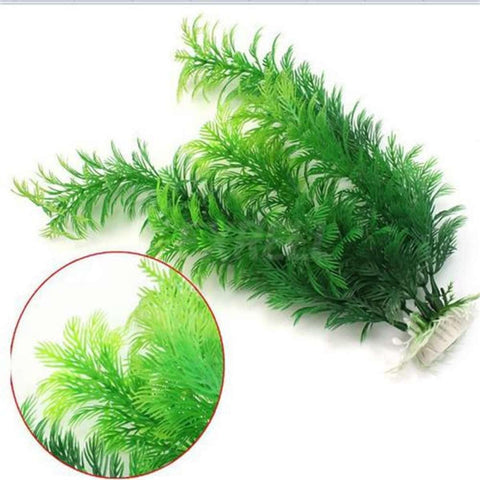 30Cm Artificial Plastic Water Plant Large Fish Tank Grass Aquarium Ornament
