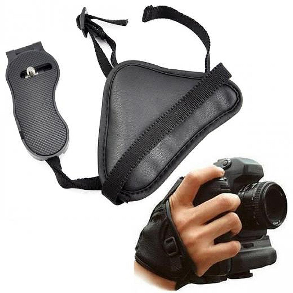 Leather SLR Camera Wrist Strap Hand Grips for Canon Sony Olympus Nikon DSLR