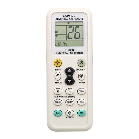 35000110 CHUNGHOP K-1028E Universal LCD AC Remote Control for Air Condition