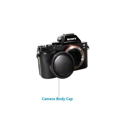 35000985 Body Cap for Sony E-Mount NEX Sony Alpha A6500 A7R2 NEX-7 NEX-6 Etc