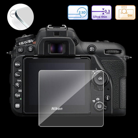 35001301 Tempered Glass Screen Protector For Canon Rebel SL2 200D FOR ALL DSLR Camera