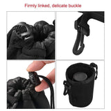 35002010 Lens Pouch For Canon Nikon DSLR Camera Lens Extra Large