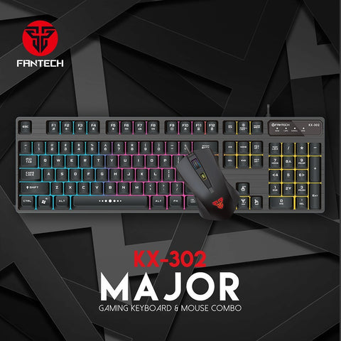 FANTECH KX-302 Major Gaming Keyboard And Mouse Combo price in nepal