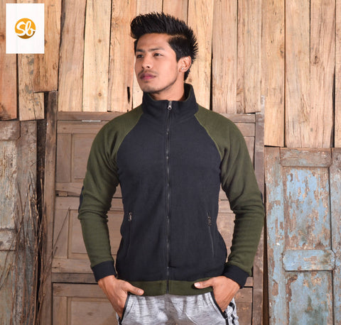 Fleece Single Winter Jacket For Men