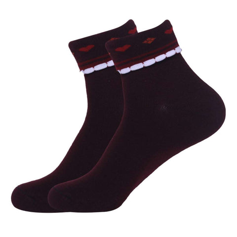 Daishu Pack Of 6 Quality Foldable Socks For Women