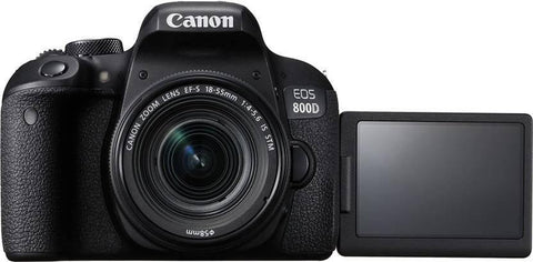 Eos 800D Digital Slr Camera With 18-55Mm Is Stm (16 Gb Sd Card )- Black price in Nepal