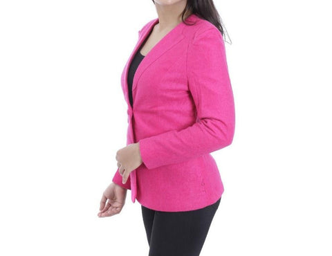 Attire Nepal Pink Solid Coat For Women price in Nepal