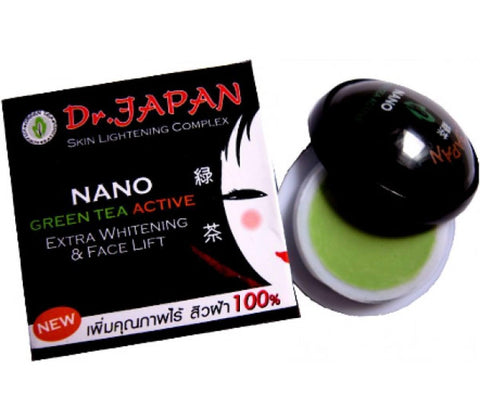 Dr. Japan Green Tea Active Face Lift Cream, Acnes And Melasma / By Shophill
