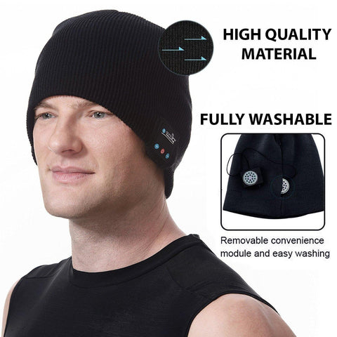 Bluetooth Cap Beanie For Men And Women