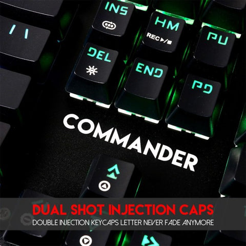 Fantech MVP862 COMMANDER Mechanical Gaming Keyboard And Mouse Combo