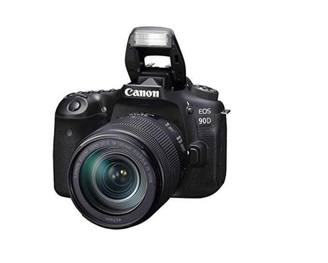 Canon Eos 90D Digital Slr Camera With Ef-S 18-135Mm F/3.5-5.6 Image Stabilisation Usm Lens Kit (16 Gb Sd Card) - Black price in Nepal