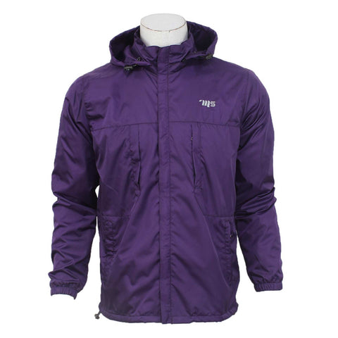 Moonstar Solid Windcheater For Men