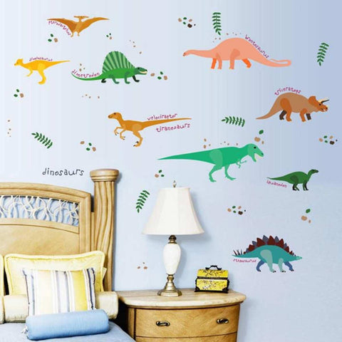 Original Jungle Dinosaur Wall Stickers For Kids Rooms price in Nepal