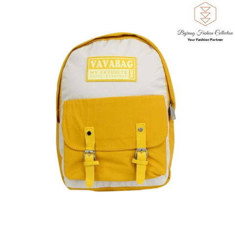 Women Large Capacity Ribbons Backpack Trave Backpacks Letter School Bag For Teenage Girls By Bajrang