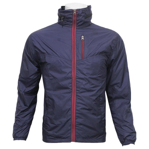 Maroon Taffeta Solid Windcheater For Men price in nepal