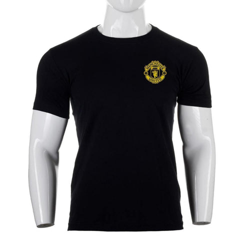 Shangrila Classic Manchester United Logo Printed T-Shirt For Men