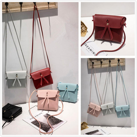 41001247 Korean Design Tassel Handbag Crossbody Bag Messenger Tote Purse Fashion