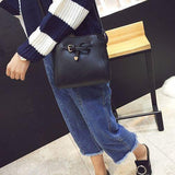 41001398 Women PU Leather Shoulder Crossbody Bag Barrel Bag With Arrow Belt
