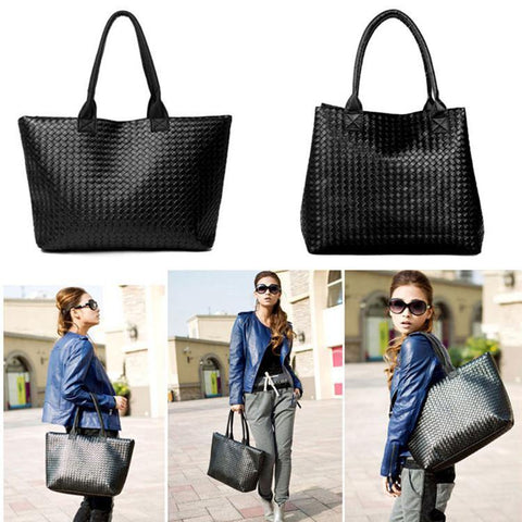 41001629 Korean Design Tote Bag PU Leather Handbag Shoulder Purse Bags