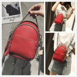 41001731 Cute Pu Leather Front Pocket Stylish Ladies Handbags Crossbody Bags Red