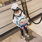 41002003 Cute Animal Kids Cartoon Travel Shoulder Bags Backpacks