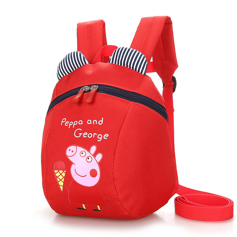 41002004 Peppa pig Kids Cartoon Travel Shoulder Bags Small Backpacks