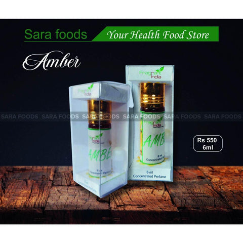 Concentrated Perfume Amber 6ml