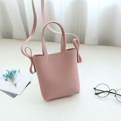 Korean Design Pu Leather Shoulder Bag For Women price in Nepal