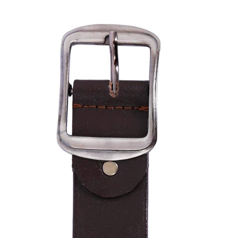 Combo Of 2 Dark Brown Formal Belt For Men Price in Nepal
