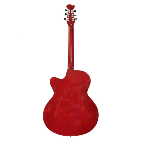 Redburst Indian Guitar With Free Cover And 2 Picks