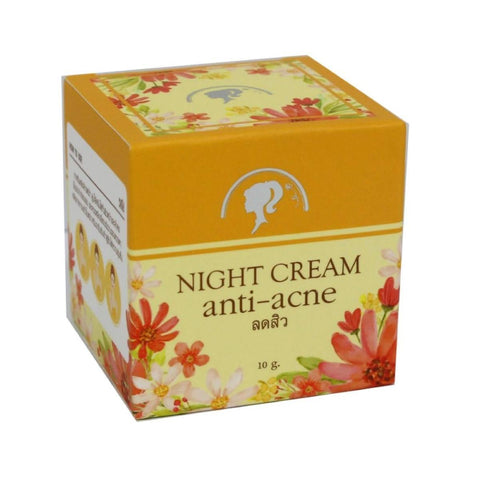 Night Cream Anti Acne, Anti Acne Cream, Shownaii Anti Acne 10g / By ShopHill