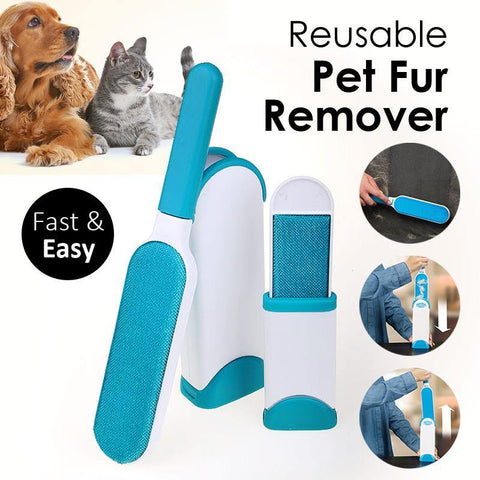 Reusable Pet Fur Remover With Self-Cleaning Base price in Nepal