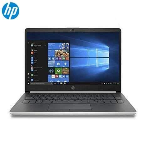 HP 14 Intel Core i3 8th Gen 4GB DDR4 128GB SSD 500GB HDD 5400rpm (1920x1080) Full HD IPS Display Platnium Silver Win 10 Genuine Backlit Keyboard Slim Ultrabook