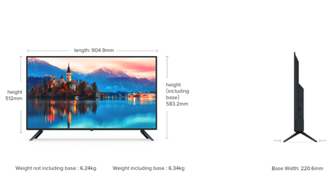 "Mi TV 4A 100cm (40"") 40 Inches Full HD Android Smart TV price in nepal"