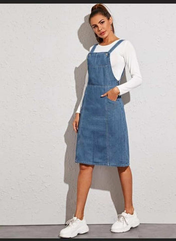 FuLoo's Denim Dungaree for Women price in nepal