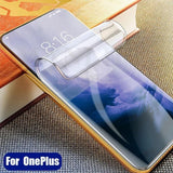 Full Size Anti-explosion Soft TPU Screen Guard Film for Oneplus 7T pro
